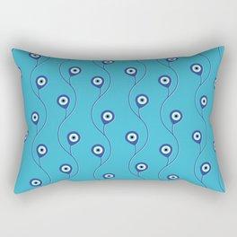 Nazar pattern - Turkish Eye charm #3 Rectangular Pillow