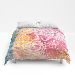 hawaiian seahorse Comforters
