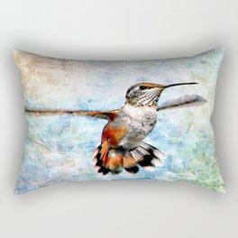 Rufus Hummingbird Rectangular Pillow