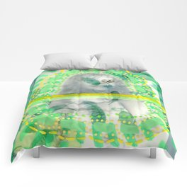 Incognito Girl Comforters