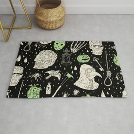 Whole Lot More Horror: BLK Ed. Rug