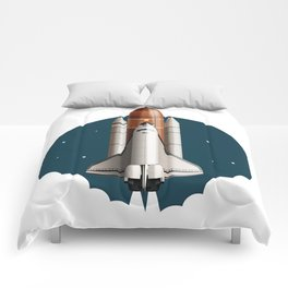 Space shuttle Comforters