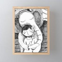 Yuko Nagamori | Daisuki, 2018 Framed Mini Art Print
