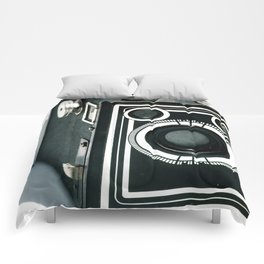 Vintage 1940's Sears S-20 Box Camera Photography  Comforters