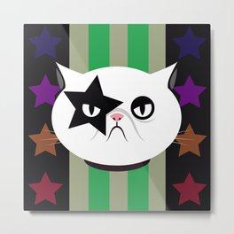 Star cat Metal Print