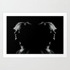 Man to Man Art Print