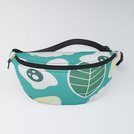 Sweet floral dream in blue Fanny Pack