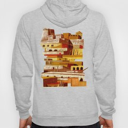 The fortress at sunset Hoody