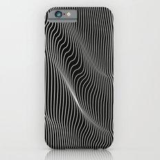 Minimal curves black iPhone 6 Slim Case