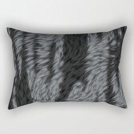 Black tiger skin Rectangular Pillow