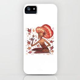 Autumn Fairy iPhone Case