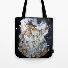 Excerpt / Curacao Coffee on Canvas Tote Bag