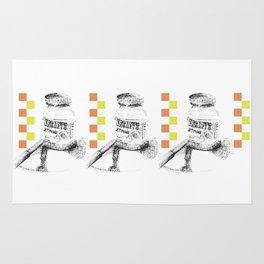 Triple Chocolate Spread Illustration Rug