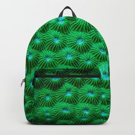 Green Curl Polyps Backpack