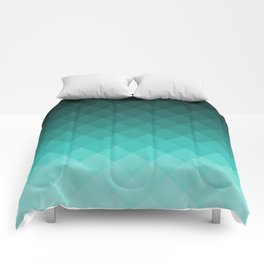 Ombre squares Comforters