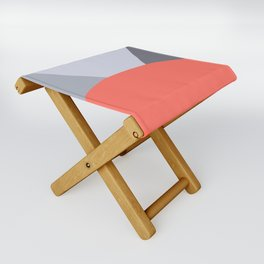 Deyoung Living Coral Folding Stool