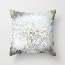 Flower | Flowers | Dandelion Seed | Nadia Bonello Throw Pillow