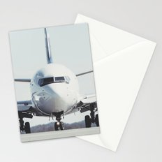 Taxiing to the Gate Stationery Cards