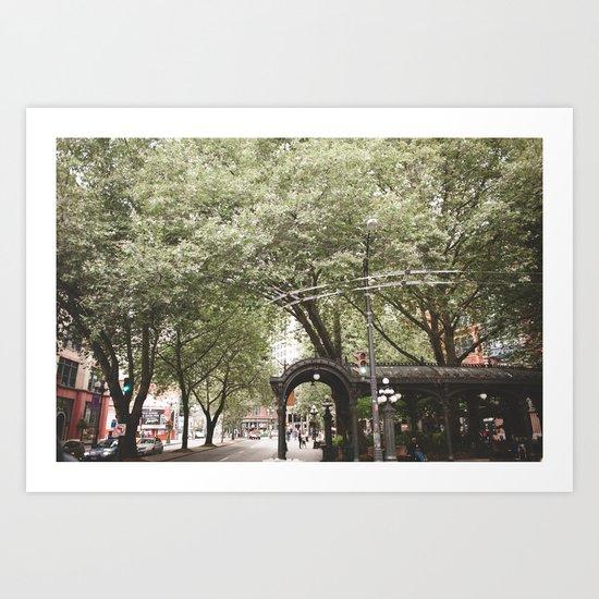 Seattle, WA Art Print