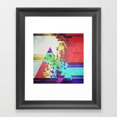 Triangle Lover Framed Art Print
