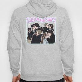 sherlock: ship all the ships Hoody
