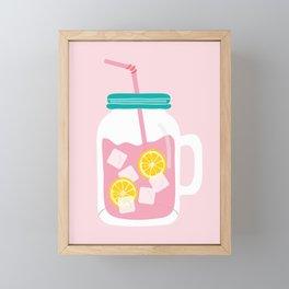 Pink Lemonade Framed Mini Art Print