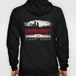 Corpus Christi Texas City Vintage Distressed T-Shirt Hoody