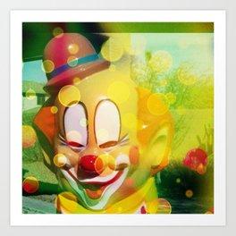 Dirty Clowning Art Print