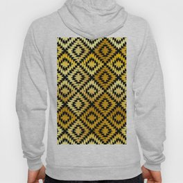 Turkish carpet gold black. Patchwork mosaic oriental kilim rug Hoody