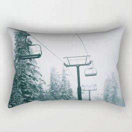 Ski Lift II Rectangular Pillow
