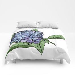 Hydrangea Blue Comforters