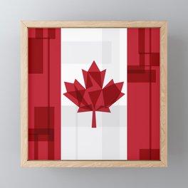 O Canada Framed Mini Art Print