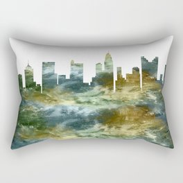 Columbus Skyline Ohio Rectangular Pillow