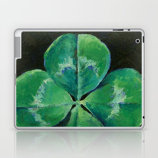 Shamrock Laptop & iPad Skin
