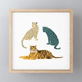 Predators Framed Mini Art Print