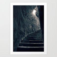 Stairway to Heathens Art Print