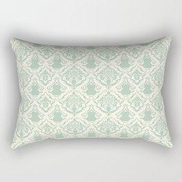Cat Damask Rectangular Pillow