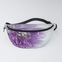 chives bloom Fanny Pack