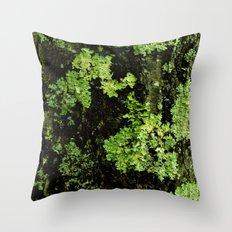 Textures - Moss Throw Pillow