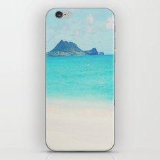 Kailua beach- Oahu iPhone & iPod Skin