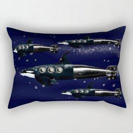 CYBORG-POD - 009 Rectangular Pillow