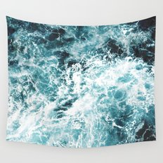 Sea Waves Wall Tapestry