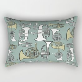 Brass band Rectangular Pillow