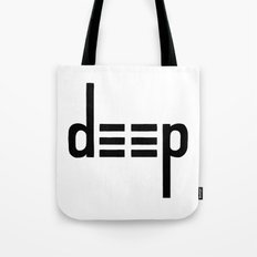 DEEP - Ambigram series Tote Bag