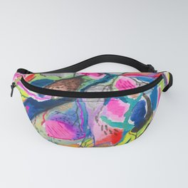 Fluorite Mineral Microscope Fanny Pack