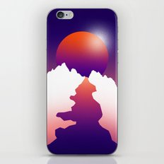 Spilt moon iPhone & iPod Skin