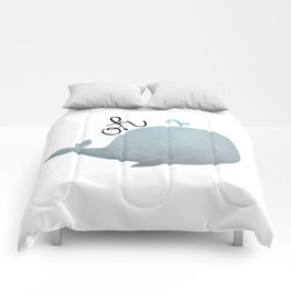 Oh Whale Comforters