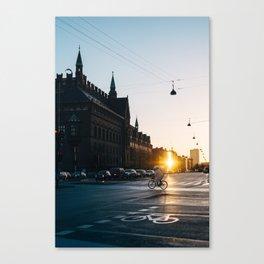 CPH morning Canvas Print