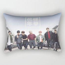 BTS + I need u Rectangular Pillow