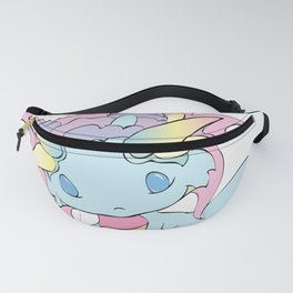 Rainbow Sherbet Baby Dragon Fanny Pack
